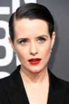 Hair How-To: Claire Foy's Strong and Sleek Golden Globes Hair