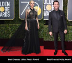 2018 Golden Globe Awards Fashion Critics' Roundup