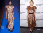 Greta Gerwig In Gucci - The National Board Of Review Annual Awards Gala