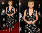 Greta Gerwig In Proenza Schouler  - 43rd Annual Los Angeles Film Critics Association Awards