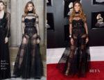 Heidi Klum In Ashi Studio - 2018 Grammy Awards