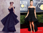 Heidi Klum In Ashi Studio Couture - 2018 Golden Globe Awards