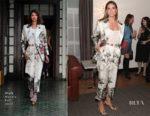 Heidi Klum In Wolk Morais - Wolk Morais Collection 6 Fashion Show