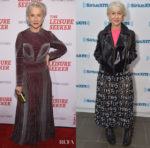 Helen Mirren In Valentino & Alice + Olivia - 'The Leisure Seeker' New York Screening & SiriusXM