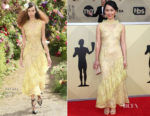 Hong Chau In Rodarte - 2018 SAG Awards