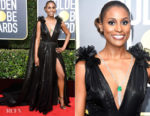 Issa Rae In Atelier Prabal Gurung - 2018 Golden Globe Awards