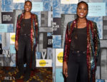 Issa Rae In Markarian - Power in Women's Cocktail Event