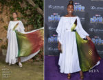 Issa Rae In Rosie Assoulin - 'Black Panther' World Premiere