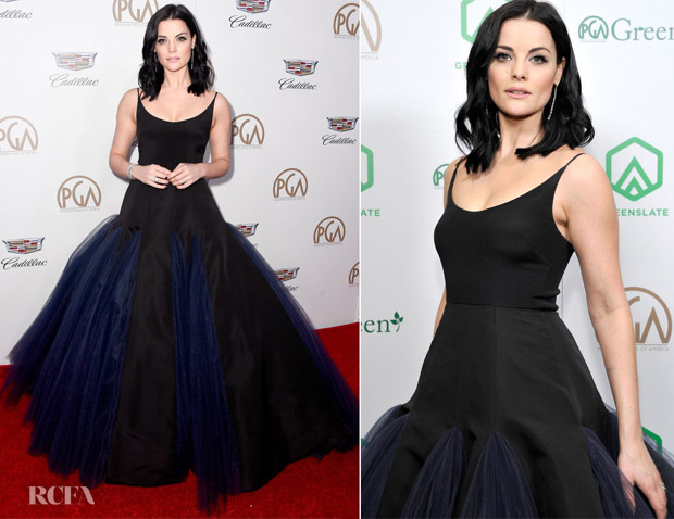 Jaimie Alexander In Christian Siriano - 2018 Producers Guild Awards