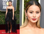 Jamie Chung In Ermanno Scervino -  2018 Golden Globe Awards
