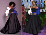 Janelle Monae In Christian Siriano - 'Black Panther' World Premiere