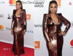 Jennifer Hudson In Rubin Singer - Grammy Salute To Industry Icons Honoring Jay-Z