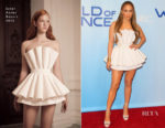 Jennifer Lopez In Ester Abner - NBC's 'World Of Dance' Photocall