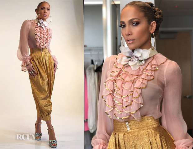Jennifer Lopez In Gucci  - World of Dance
