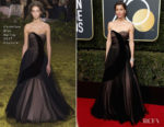 Jessica Biel In Christian Dior Couture - 2018 Golden Globe Awards