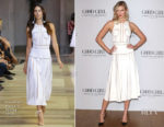 Karlie Kloss In Carolina Herrera - Carolina Herrera Fragrance Launch