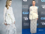 Kate Bosworth In Brock Collection - 2018 Critics' Choice Awards