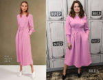 Katie Lowes In Tibi - Build Studio: 'Scandal'