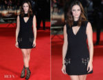 Kaya Scodelario In Louis Vuitton - 'Maze Runner: The Death Cure' London Premiere