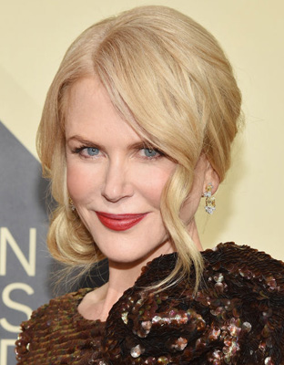Get The Look: Nicole Kidman's SAG Awards Glistening Copper Beauty