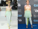 Kiernan Shipka In Delpozo - 2018 Critics' Choice Awards