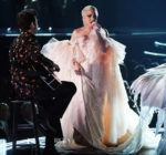 Lady Gaga In Armani Privé – 2018 Grammy Awards Performance