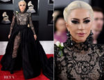 Lady Gaga In Armani Privé - 2018 Grammy Awards