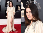 Lana Del Rey In Gucci - 2018 Grammy Awards