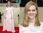 Laura Linney In J. Mendel - 2018 SAG Awards