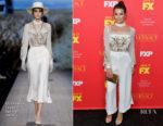 Lea Michele In Elisabetta Franchi - 'The Assassination Of Gianni Versace: American Crime Story' LA Premiere
