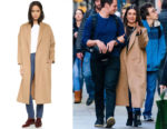Lea Michele's AYR The Robe Coat