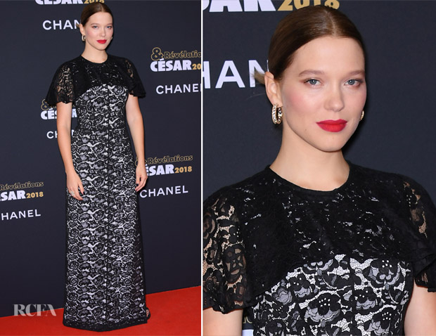 Lea Seydoux In Louis Vuitton - 'César – Revelations 2018' Party
