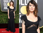 Lena Headey In Elie Saab - 2018 Golden Globe Awards