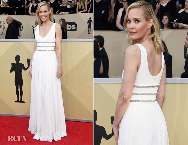 Leslie Bibb In Prada - 2018 SAG Awards