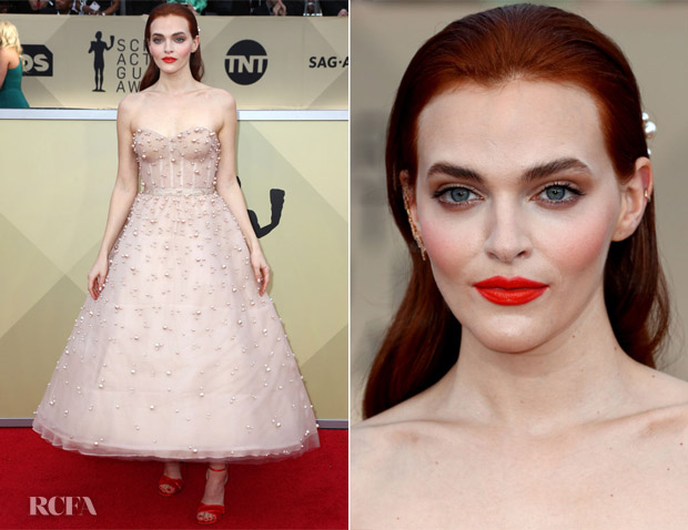 Madeline Brewer In Reem Acra - 2018 SAG Awards