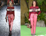Maisie Williams In Coach - 'Early Man' London Premiere