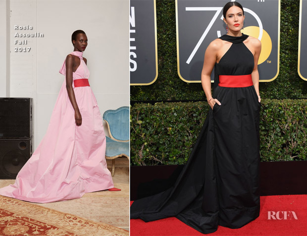 Red carpet fashion awards dresses of 2018