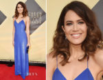 Mandy Moore In Ralph Lauren Collection - 2018 SAG Awards