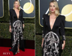 Margot Robbie In Gucci - 2018 Golden Globe Awards