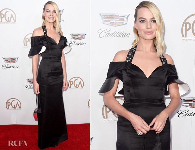 Margot Robbie In Louis Vuitton - 2018 Producers Guild Awards