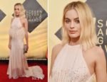 Margot Robbie In Miu Miu - 2018 SAG Awards
