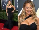 Mariah Carey In Dolce & Gabbana - 2018 Golden Globe Awards