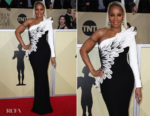 Mary J Blige In Jean-Louis Sabaji - 2018 SAG Awards
