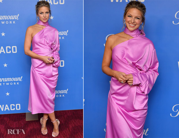 Melissa Benoist In Solace London - 'Waco' New York Premiere