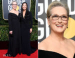 Meryl Streep In Vera Wang - 2018 Golden Globe Awards