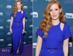 Molly's Game Q & A With Jessica Chastain (in Louis Vuitton)