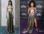 Nabiyah Be In Maria Lucia Hohan - 'Black Panther' World Premiere