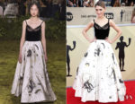 Natalia Dyer In Christian Dior Couture - 2018 SAG Awards