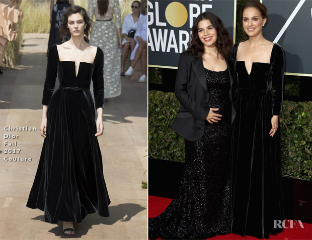 Natalie Portman In Christian Dior Couture Amp America