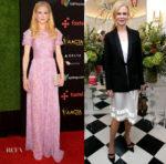 Nicole Kidman In Carolina Herrera & Louis Vuitton - 7th AACTA International Awards & Golden Globes Party